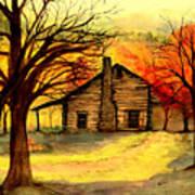 Kentucky Cabin Poster