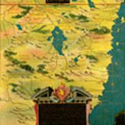 Kenya And Tanzania Poster