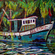 Kerala Fishing Boat  Poster
