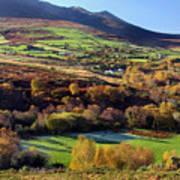 Kerry Ireland Autumn Landscape Poster