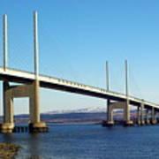 Kessock Bridge Inverness 2 Poster