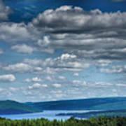 Keuka Landscape Iv Poster