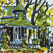 Kew Gardens Gardener's Cottage Poster