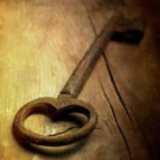 Key Poster by Bernard Jaubert