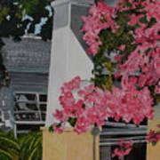 Key West Bougainvillea Poster by John Schuller