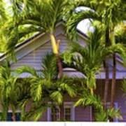 Key West Bungalow Poster