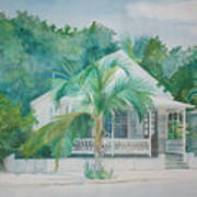 Key  West House Poster