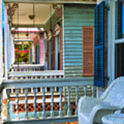 Key West Porches Poster
