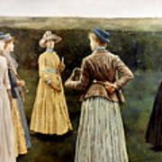 Khnopff: Memoires, 1889 Poster