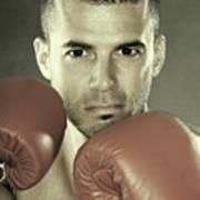 Kickboxer Poster by Oleksiy Maksymenko