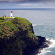 Kilauea Lighthouse On Kauai Hawaii Poster