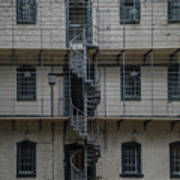 Kilmainham Gaol Spiral Stairs Poster