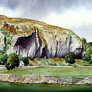 Kilnsey Crag Poster