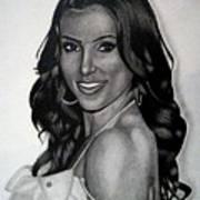 Kim Kardashian Drawing Poster