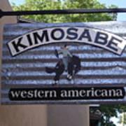 Kimosabe Poster