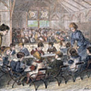 Kindergarten Cottage, 1876 Poster by Granger