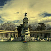 King Alfonso Monument  Poster