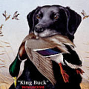 King Buck    1959 Federal Duck Stamp Artwork Poster