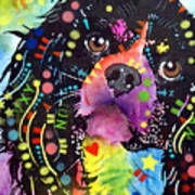 King Charles Spaniel Poster by Dean Russo