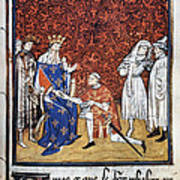 King Philip Iv Of France Poster