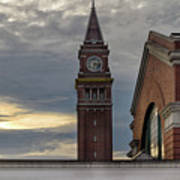 King Street Station Clock Tower Poster