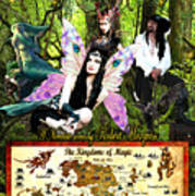 Kingdoms Of Magic Fairy Poster Poster