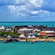 Kings Wharf, Bermuda Poster