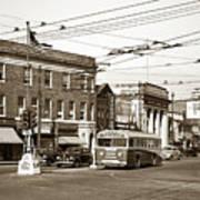 Kingston Corners Kingston Pa Early 1950s Poster