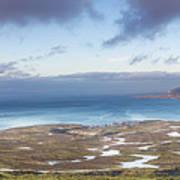Kirkjufell And Grundarfjordur From On High Poster