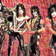 Kiss Watercolor Poster