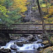 Kitchen Creek Bridge Poster