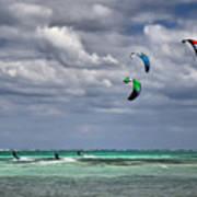 Kite Sufers Three Poster
