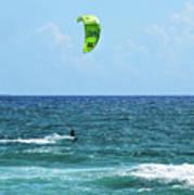Kitesurfer Dude Poster