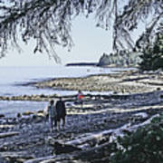 Kitty Colemans Beach - Bc Poster