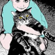 Kitty Loves Me Poster