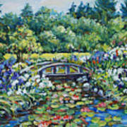Klehm's Lily Pond II Poster
