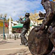 Kleizmer Band In Bronze Poster