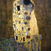 Klimt: The Kiss, 1907-08 Poster