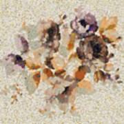 Klimt's Garden Poster
