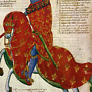 Knight, 14th Century Poster