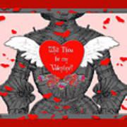 Knight Valentine Poster