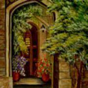 Knight's Door Poster