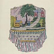 Knit Beaded Bag Poster