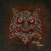 Knotty Owl Poster