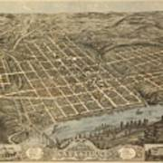 Knoxville Tennessee 1871 Poster