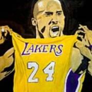 Kobe Bryant Poster by Estelle BRETON-MAYA