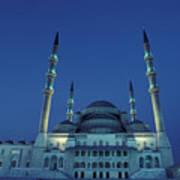 Kocatepe Cami Mosque In Ankara, Turkey Poster