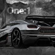 Koenigsegg One-1 Poster