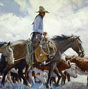 Koerner: Cowboy, 1920 Poster