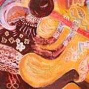 Kokopelli Jazz Poster